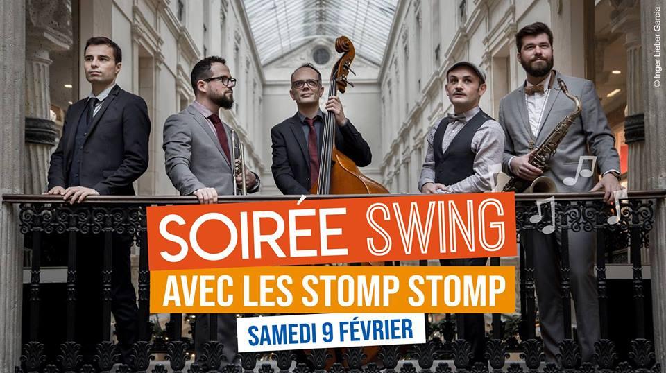 Soirée swing 2019 Stomp Stomp