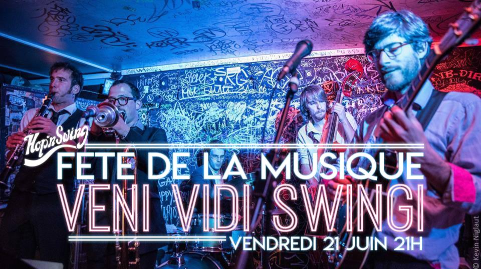 Fete de la musqiue 2019 avec Veni Vidi Swingi