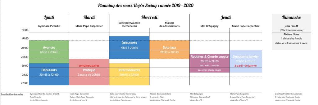 Planning 2019-2020