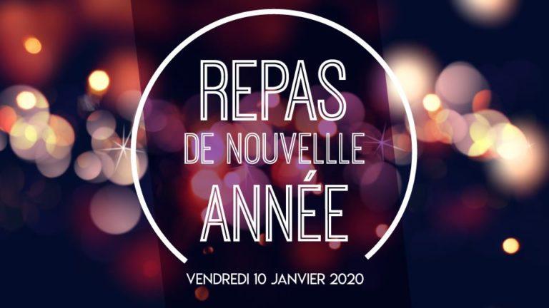Repas nouvelle année adhérents 2020