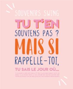 Souvenirs swing